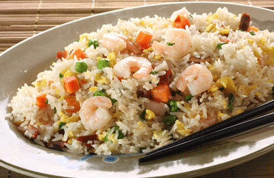 Jerk Prawn Rice Bowl